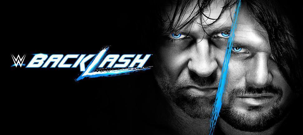WWE Backlash 2016: Match Card