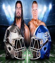 WWE تقتحم عالم كرة القدم الأمريكية بهذه الخوذ المبتكرة