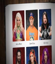 كتاب نجوم و نجمات WWE لعام 2017