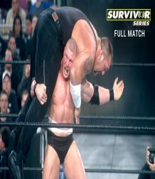 نزال كامل - بروك ليسنر ضد بيج شو في سيرفايفر سيريس على بطولة WWE عام 2002