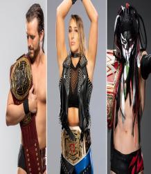 نجوم حملوا بطولات WWE جديدة لأول مرة