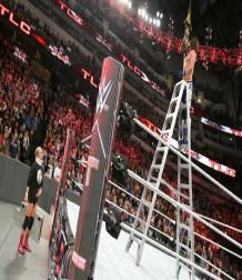 TLC 2016 :  أي جاي ستايلز يحافظ على لقب WWE بعد مساعدة من جيمس ألسوورث !