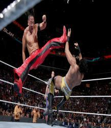 سمرسلام  2017 : المهراجا جندر مهال يحافظ على لقب WWE أمام شنسكي ناكامورا