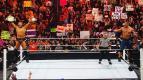 جون سينا وذا ميز يفوزان ويخسران بطولة WWE للزوجي - راو 21 فبراير 2011